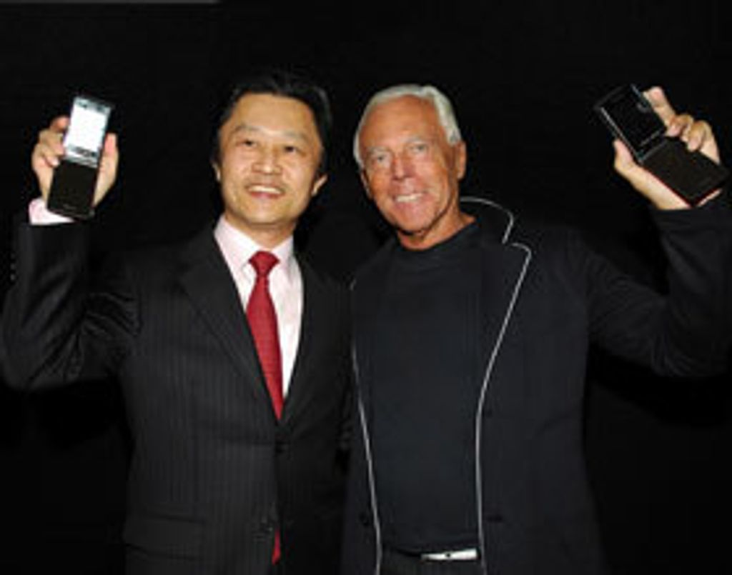 Samsung et Armani : Un duo de choc pour un portable chic !