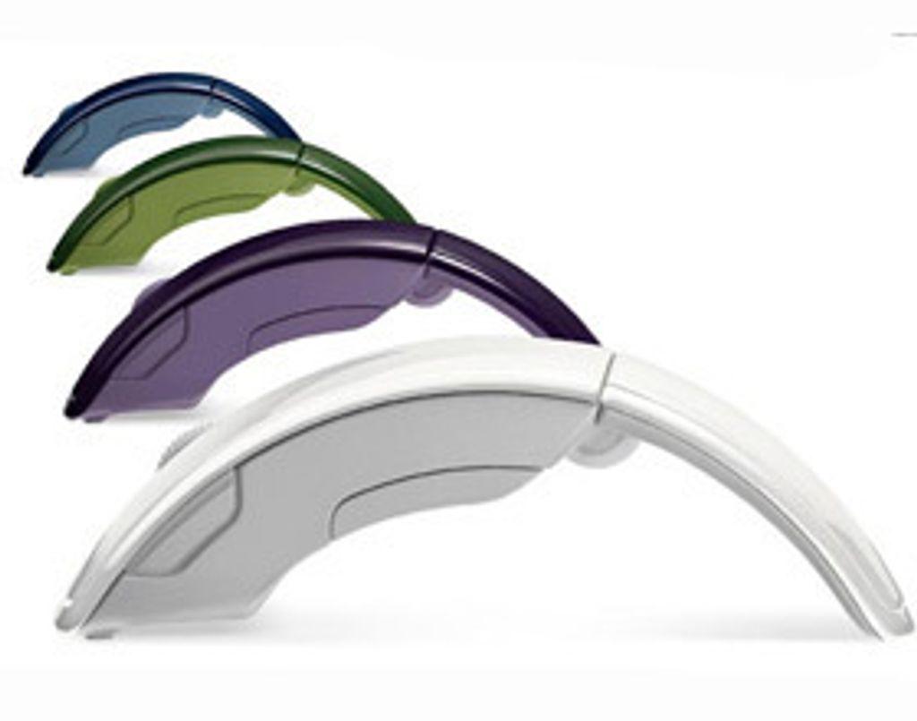 L'ARC Mouse de Microsoft prend des couleurs