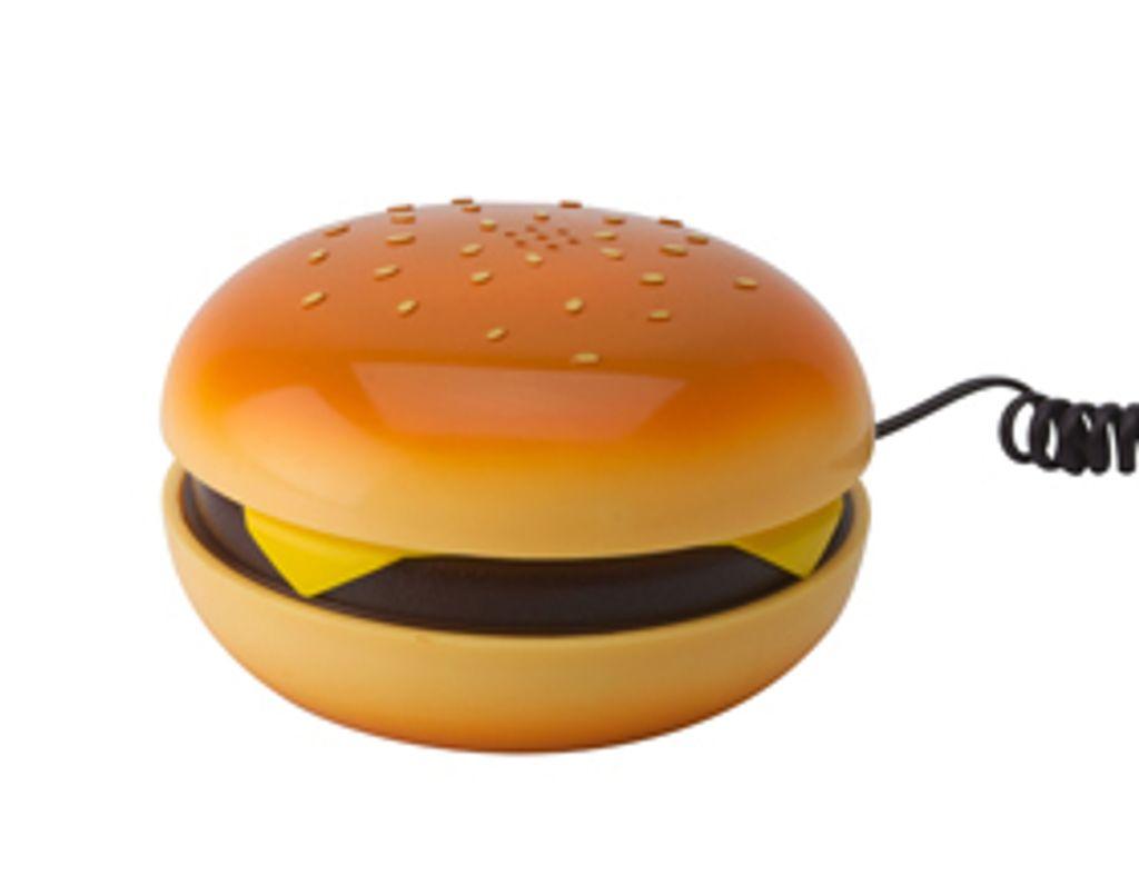 Miam, un téléphone hamburger !