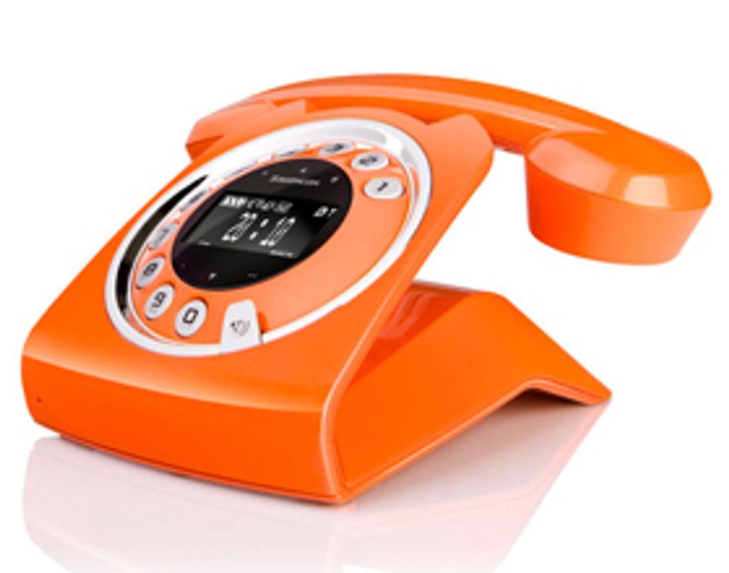 """Enfin un téléphone fixe vraiment """" hype """" !"""