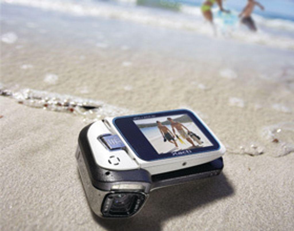 Un caméscope numérique qui n'a peur de rien