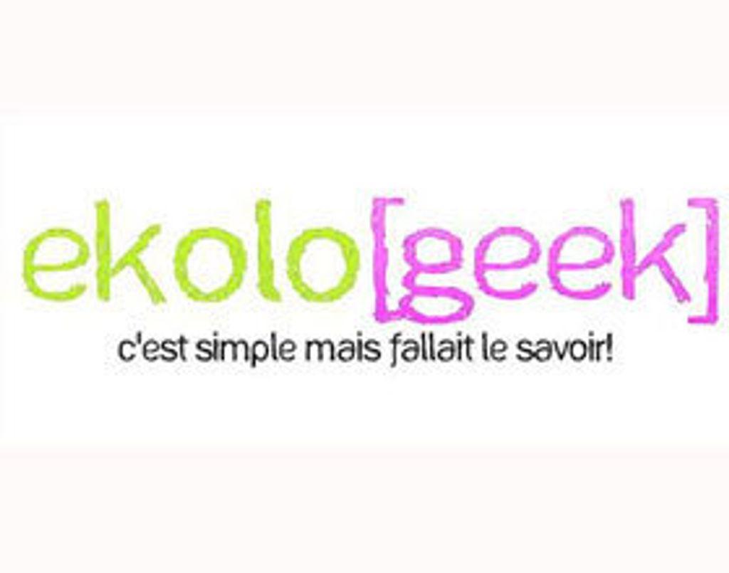 le blog du geek écolo
