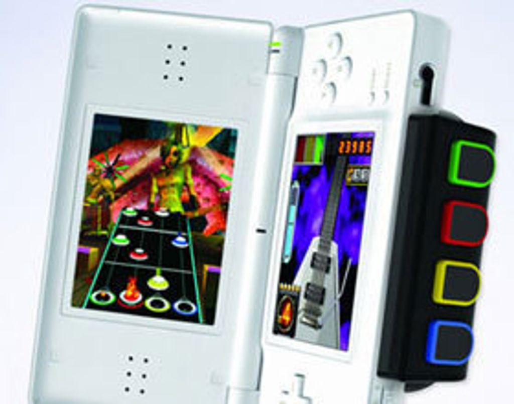 Guitar Hero sur Nintendo DS