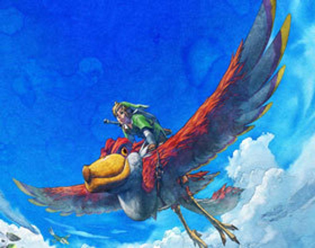 The Legend of Zelda : Skyward Sword bientôt disponible sur la Wii !
