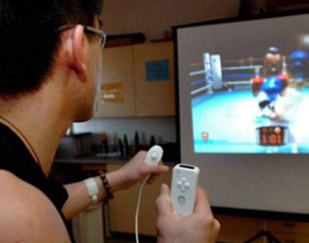 La Wii fait un séjour à l'hôpital