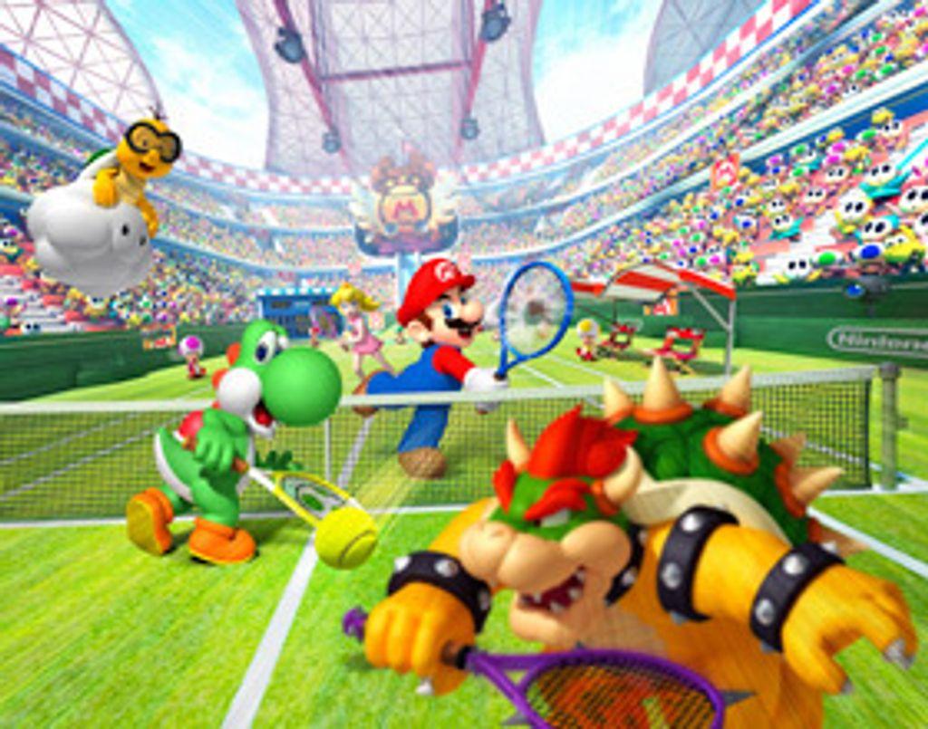 Mario se met au tennis !