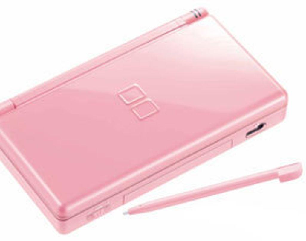 Elle est pas belle ma Nintendo DS Lite Rose ?