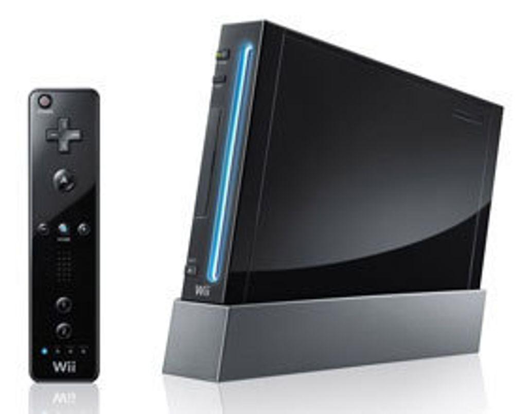 Les Japonais auront le droit à une Wii... noire