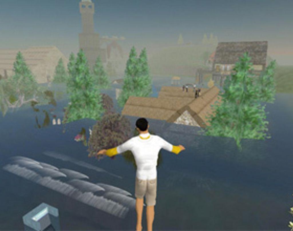 Raz-de-marée dans Second Life