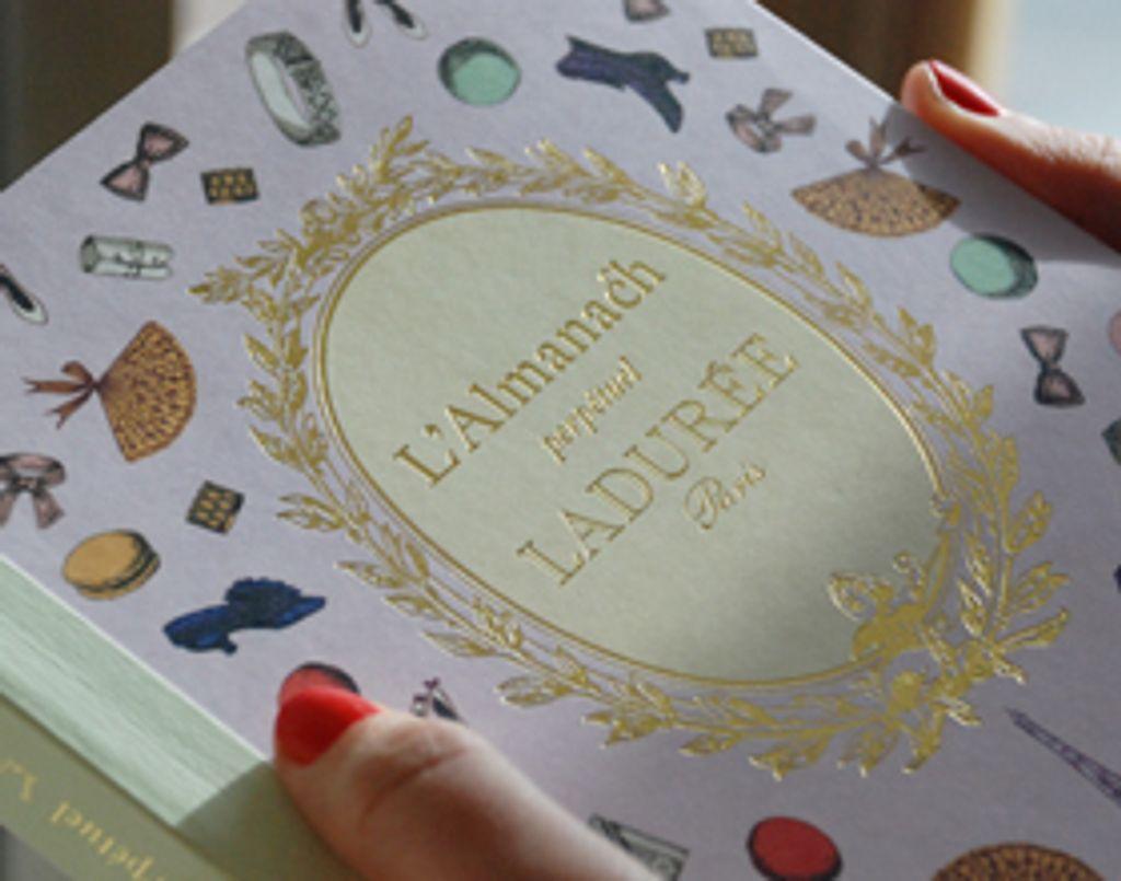 Coup de coeur pour... l'Almanach perpétuel de Ladurée !