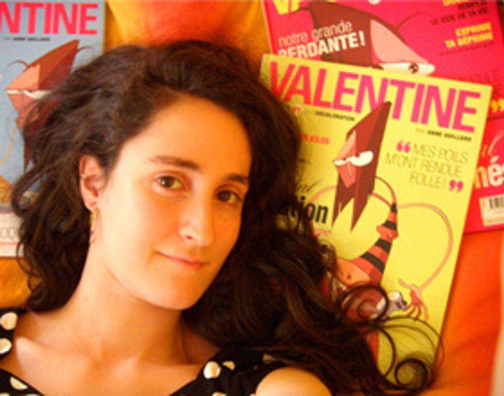 """J'adore... par la créatrice de la BD """"Valentine"""""""