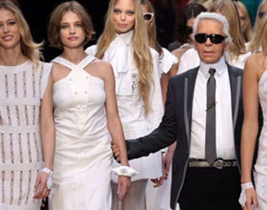 Karl Lagerfeld est partout !