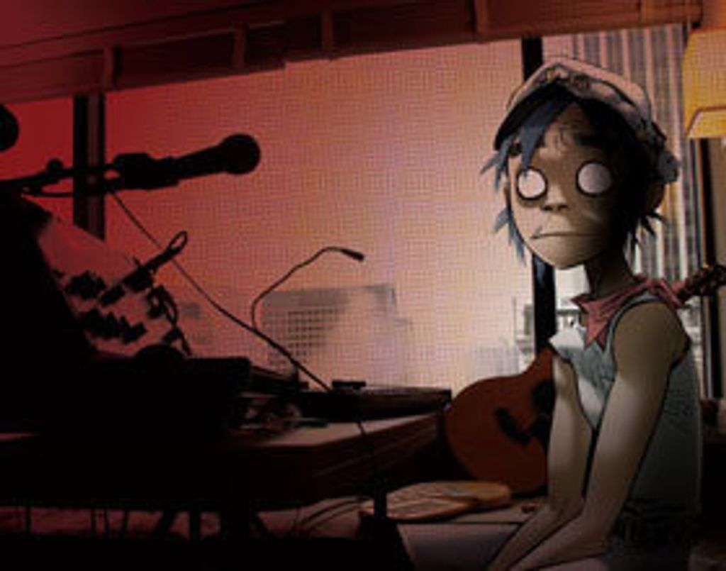 "On adore ""The Fall"" de Gorillaz"