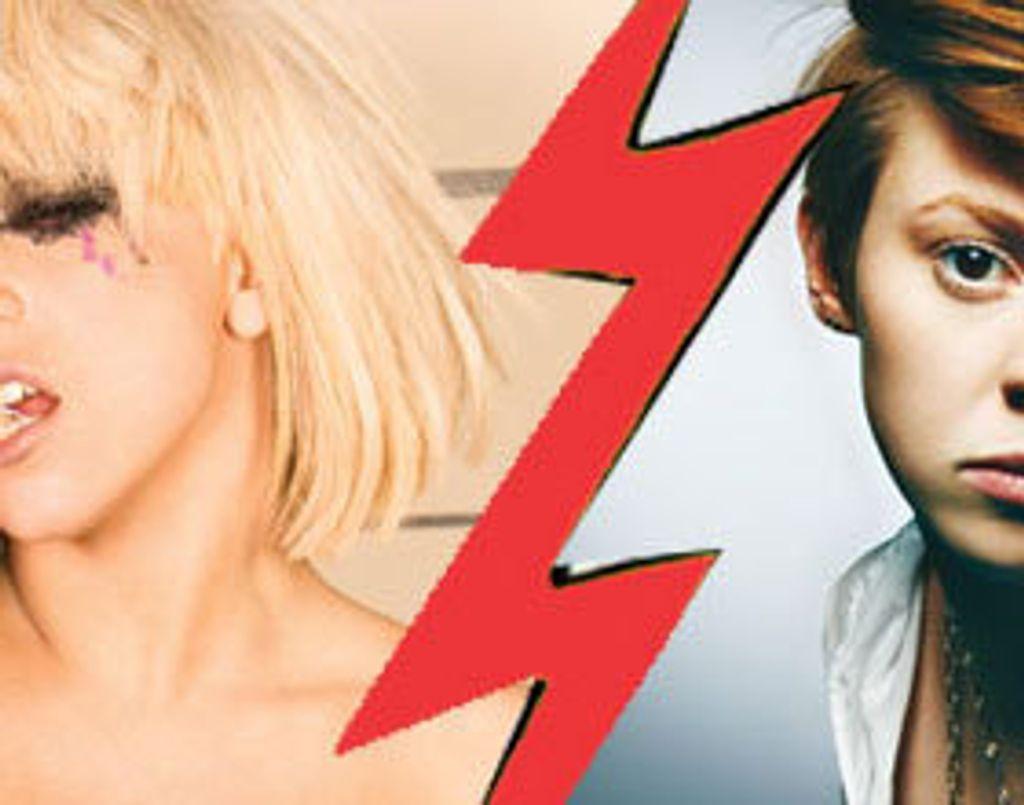 Lady GaGa Vs La Roux : le match !