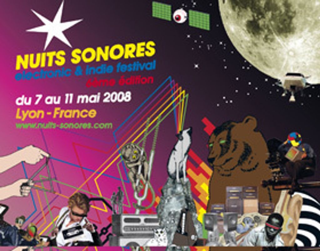 Du 07 au 11 mai, profitez des Nuits sonores à Lyon