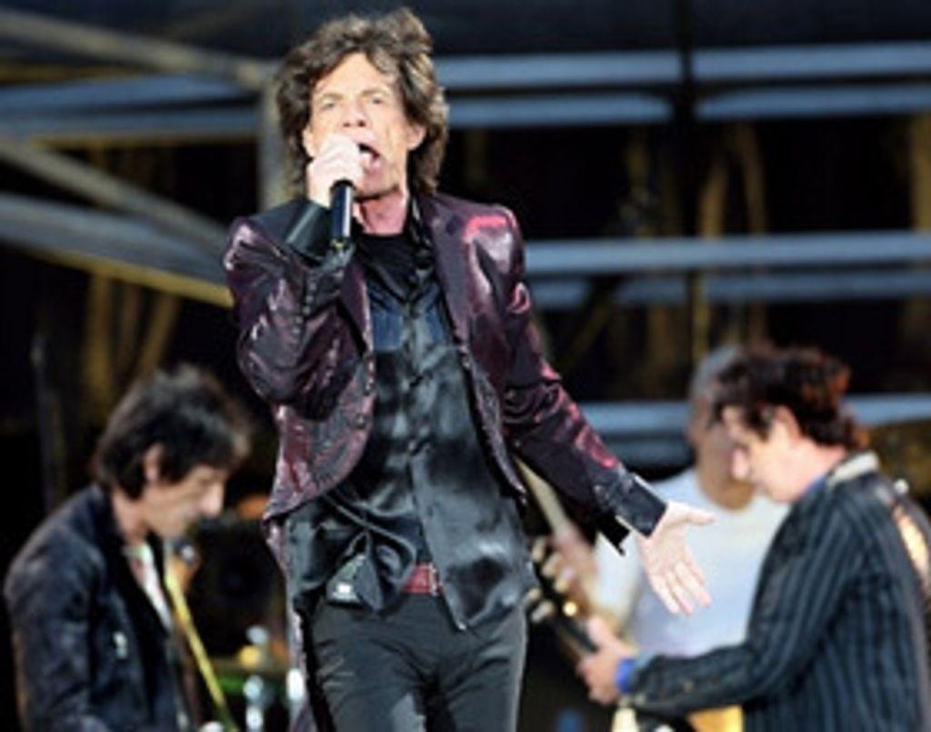 Je l'ai emmené voir les Rolling Stones pour la fête des pères !