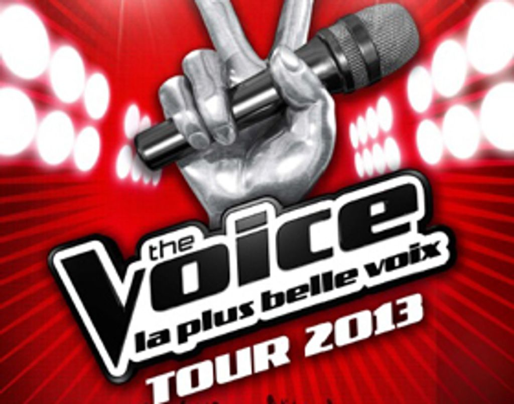 This is The Voice Tour 2013 !