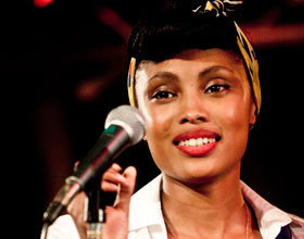 "Session live : ""Please and Change"", Imany"