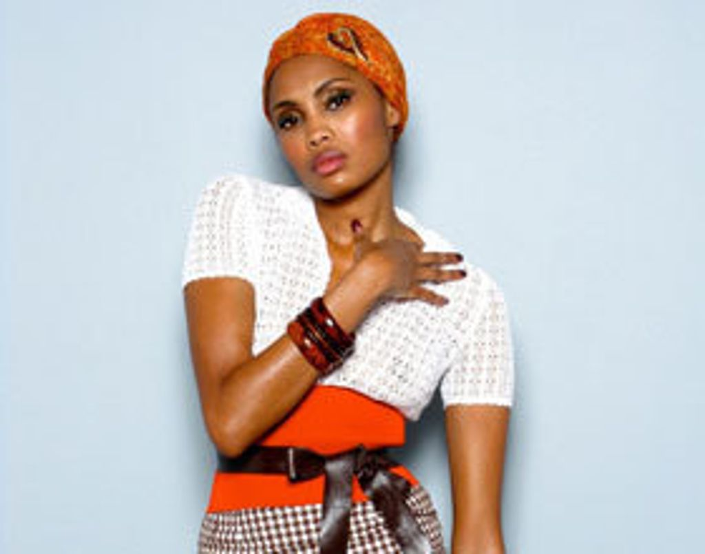 """Session live : Imany reprend """"Redemption song"""" de Bob Marley"""