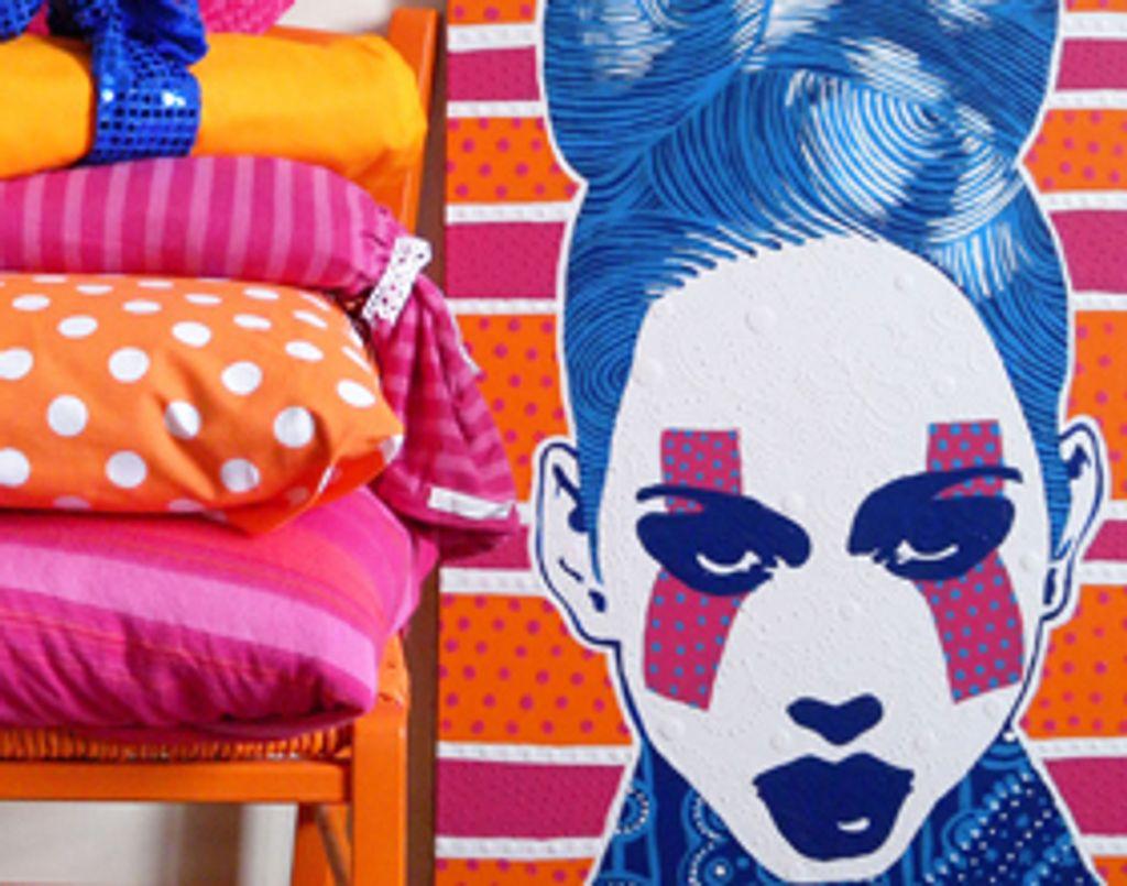 Amylee et ses toiles pop couture !