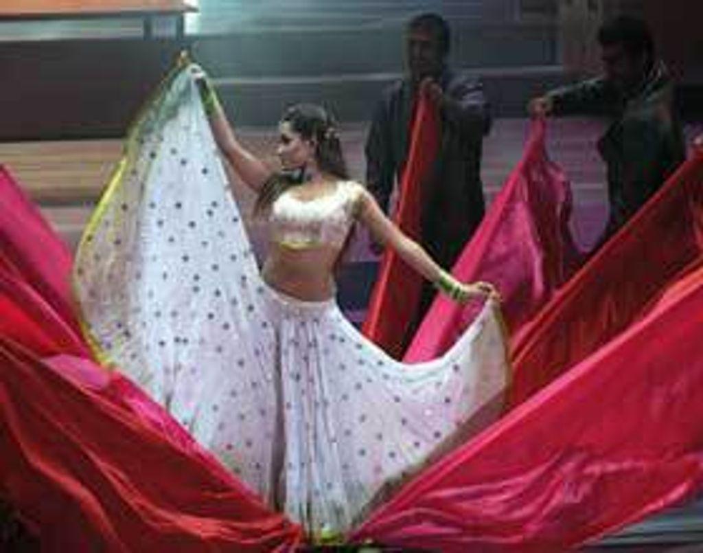 Le grand show indien !