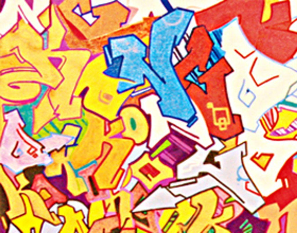 Graffitis : une explosion de couleur