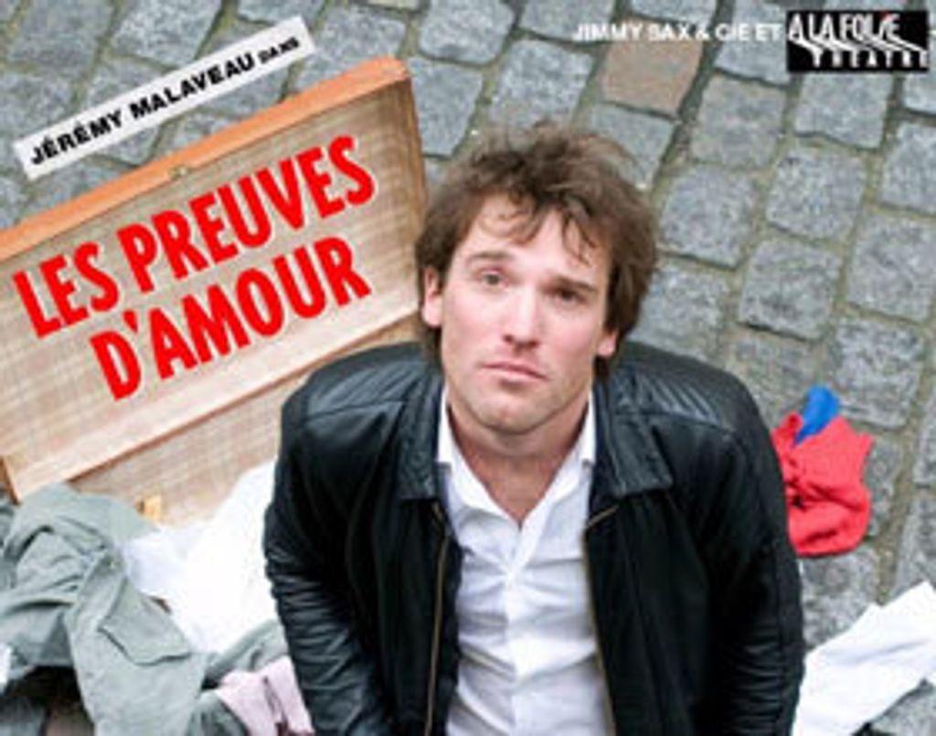 """Un one-man-show rempli de """"preuves d'amour"""""""