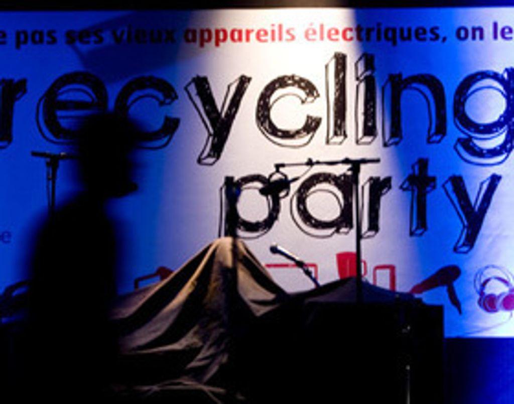 Recycling party : quand la musique nous rend écolo...