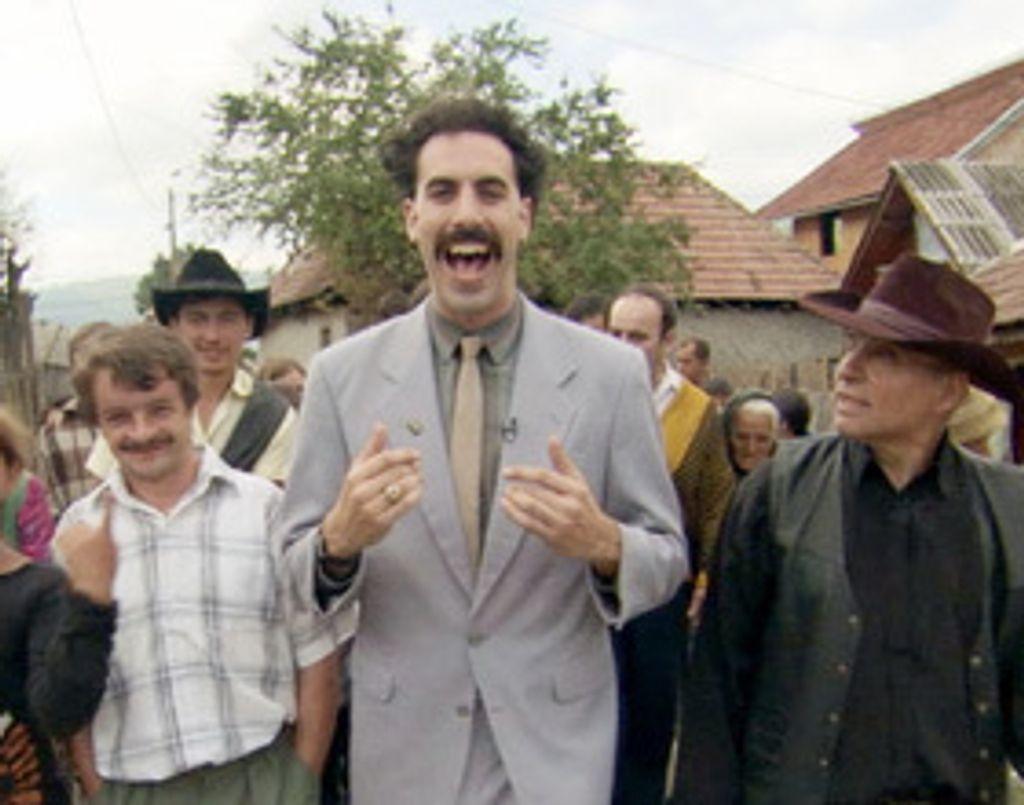 Vendredi 2 mai, Canal+, 20h50, Borat