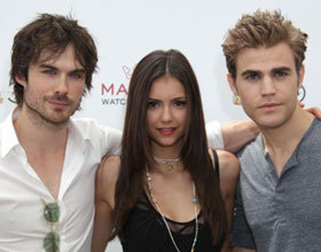 Interview avec Nina, Paul et Ian de The Vampire Diaries
