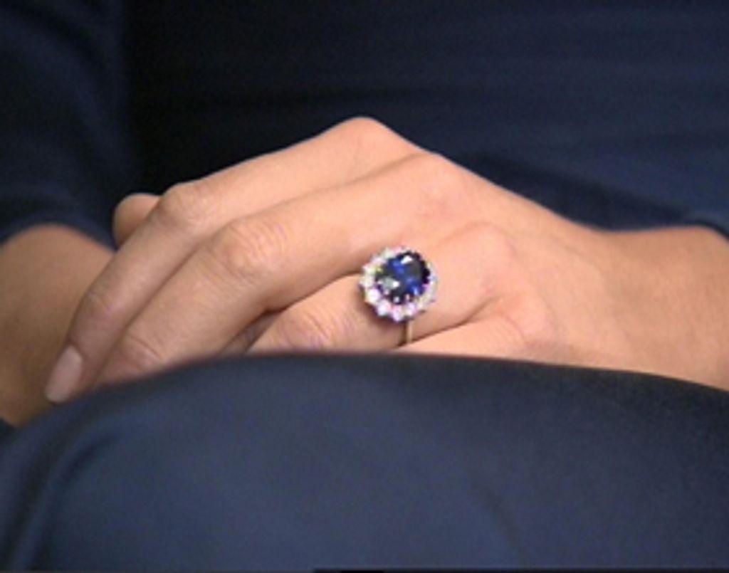 La sublime bague de fiançailles de Kate Middleton
