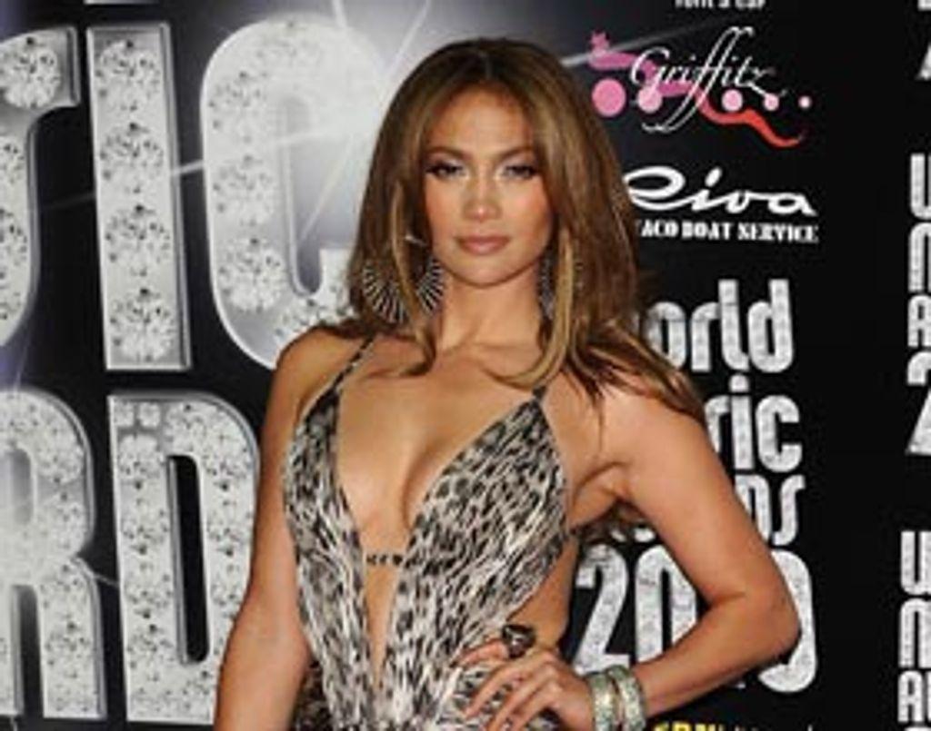 Jennifer Lopez, bête de scène