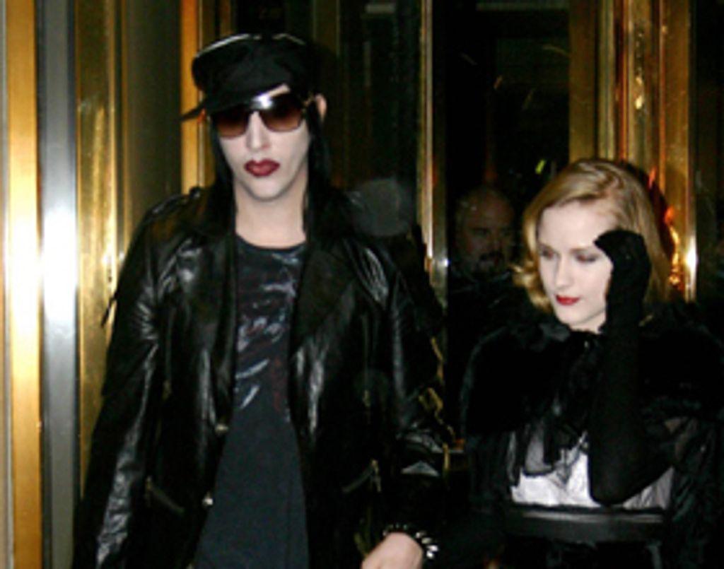 Marilyn Manson va se marier !