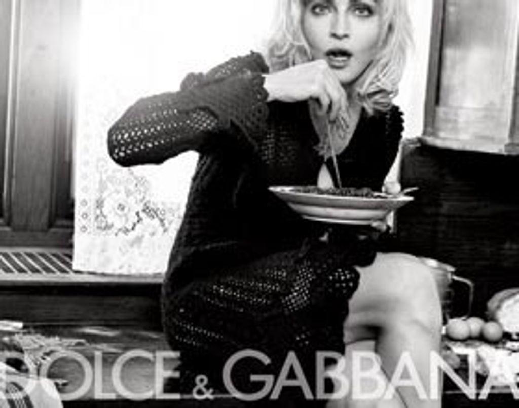 Madonna récidive pour Dolce & Gabbana