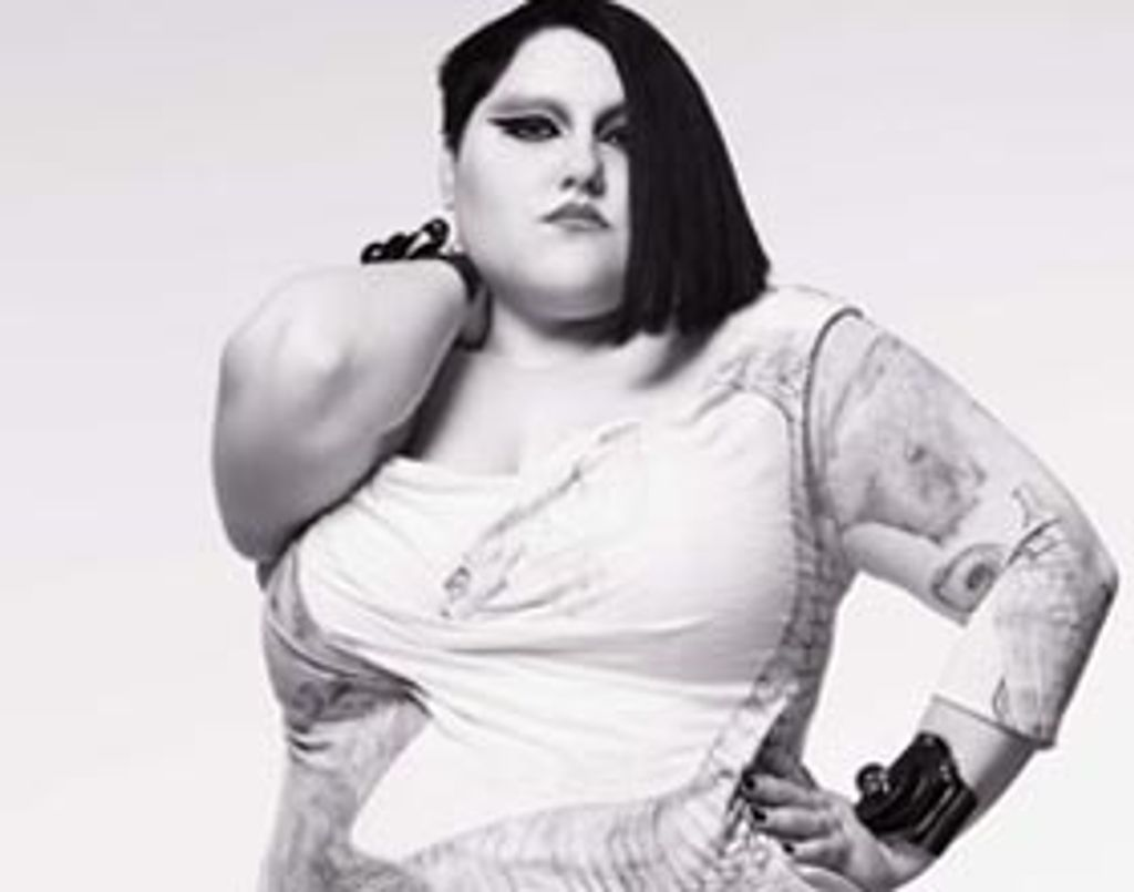 Beth Ditto et sa nouvelle collection XXL