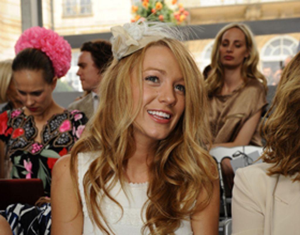 Blake Lively au défilé Dior à Paris !