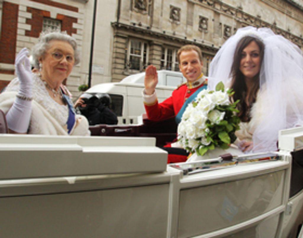 Les photos du mariage de Kate et William... vues par la rédac'
