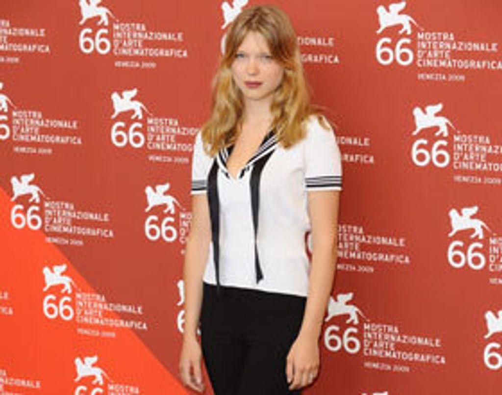 La belle Lea Seydoux bientôt à l'affiche du remake américain de Millénium ?