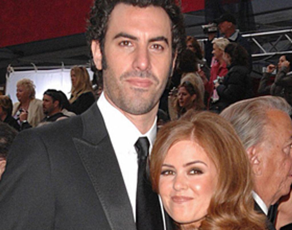 Sacha Baron Cohen et Isla Fisher : mariés pour 2010 ?
