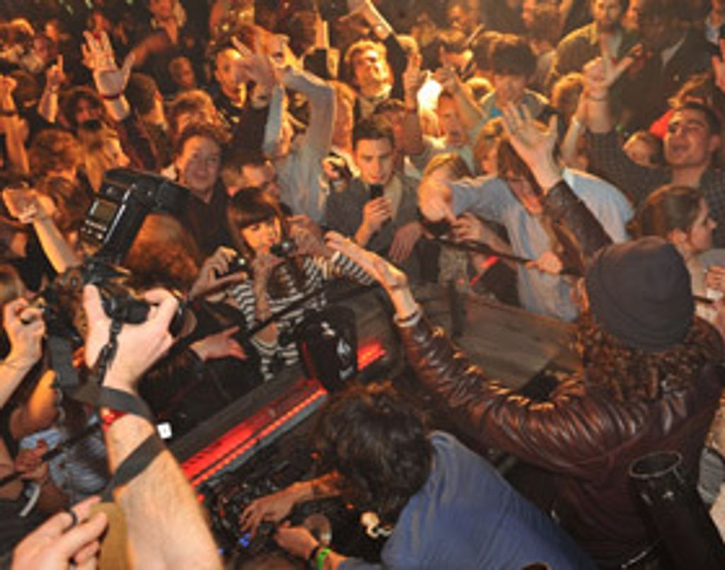 J'y étais... à la soirée Club Coke 09 by Justice