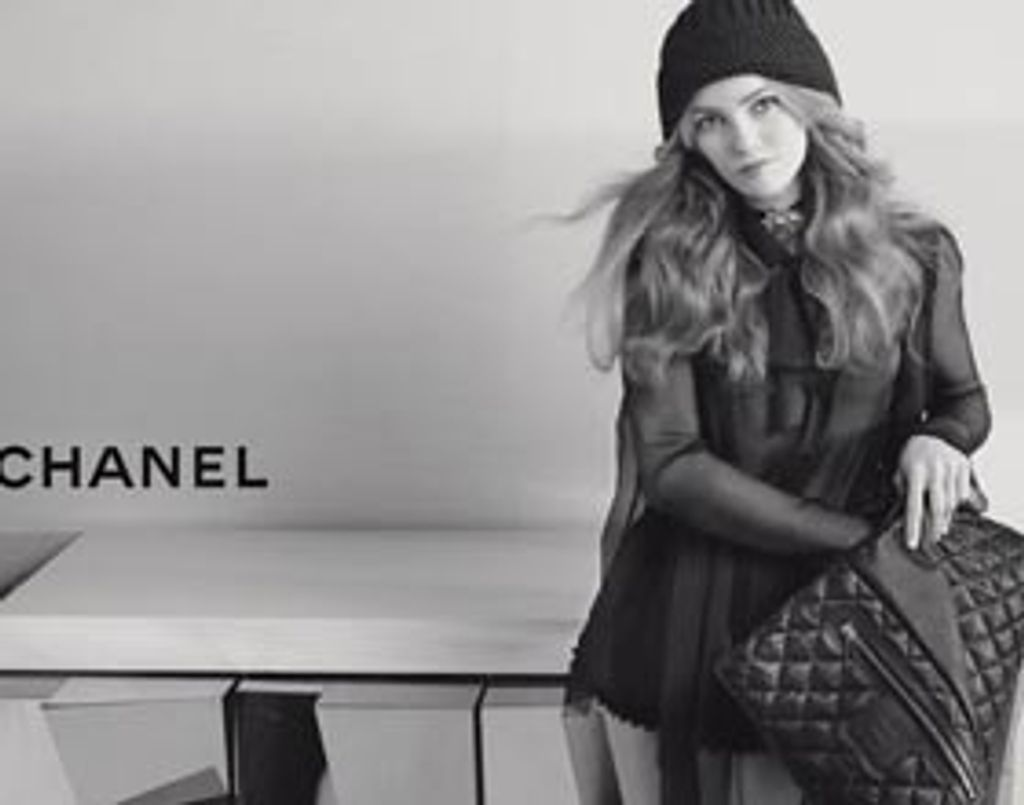 Vanessa Paradis cocoone pour Chanel