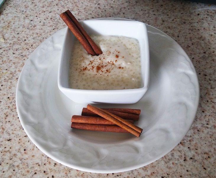 Crème de coco aux perles du Japon