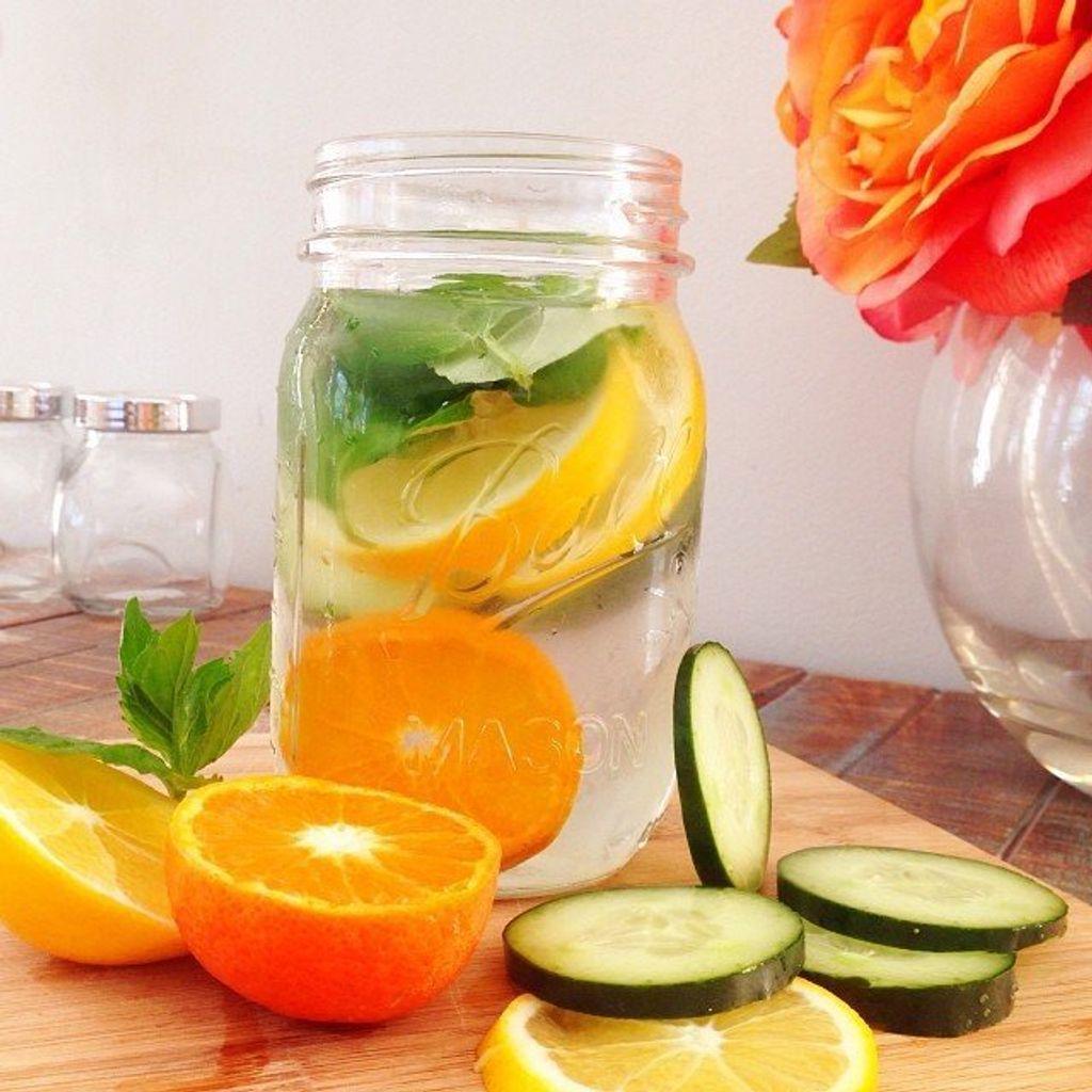Se faire du bien avec les Detox Water