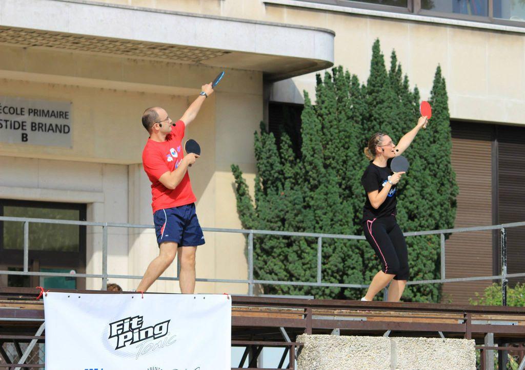 Sport : se dépenser avec le Fit Ping Tonic