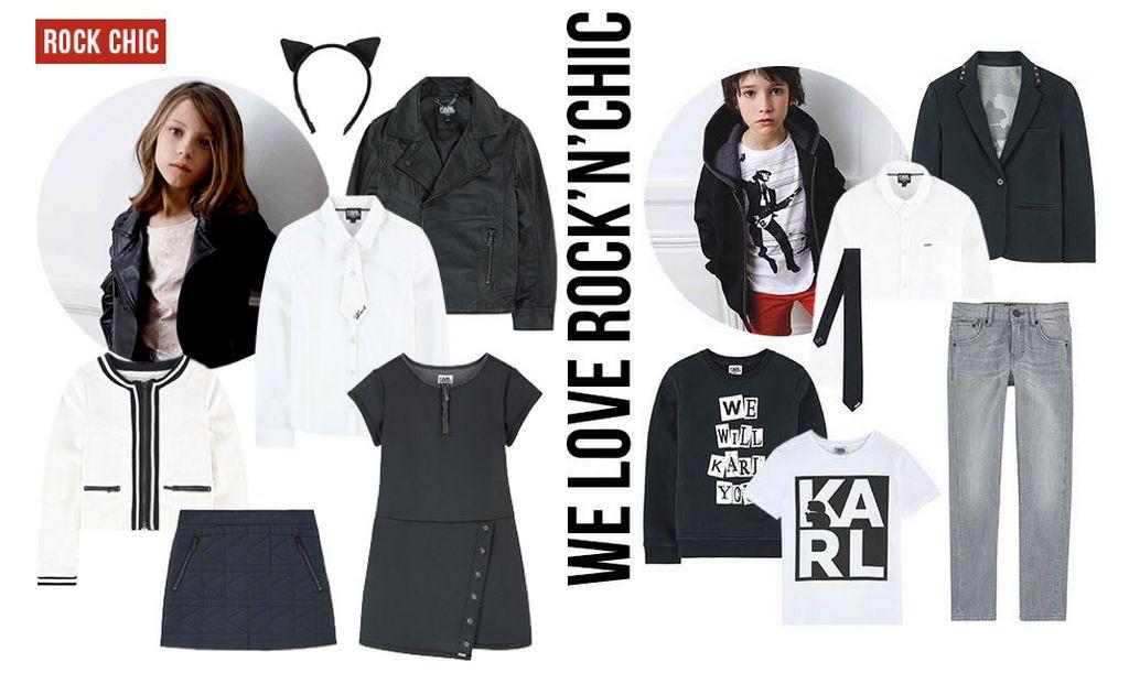 Karl Lagerfeld Kids en avant-première sur Melijoe.com